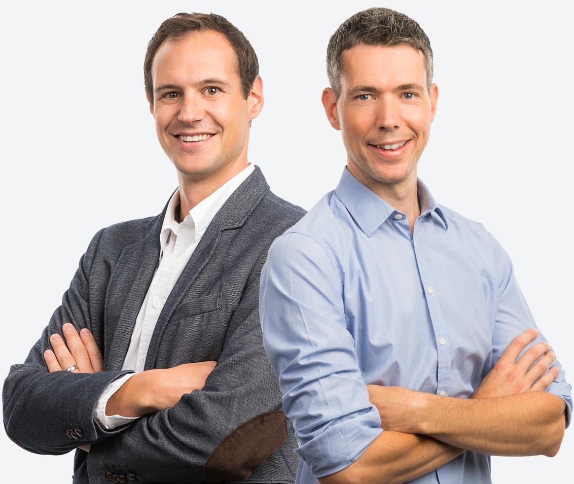 Inhaber indual GmbH - Emanuel Zuber und Tobias Schalbetter